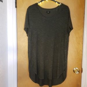 🌿Olive Green High Low Tunic Size XL Mossimo🌿